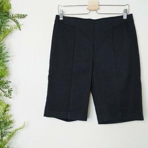 🌳 J. Jill Essential Cotton-Stretch Pull On Shorts